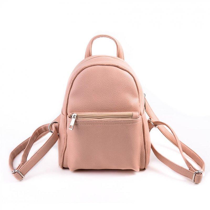 2847ffcfe702 Женский рюкзак М124-65 маленький светло-розовый цвет пудра - Интернет  магазин сумок SUMKOFF