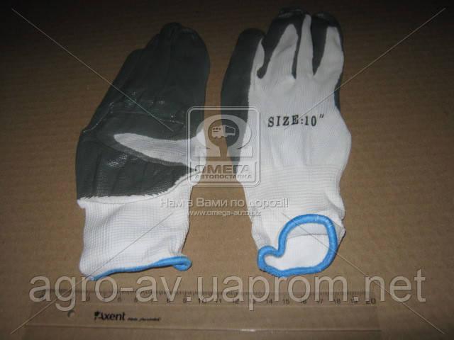 Перчатки (DK-PR4) рабочие прорезиненные <ДК>