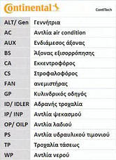 Ремень ГРМ Movano 1.9DTi 10.01/Master/Kangoo 00, фото 2