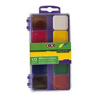 Краски акварельные ZB.6520-07, 10 цветов (Y)