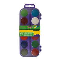 Краски акварельные ZB.6521-07, 12 цветов (Y)