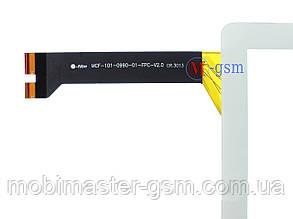 Тачскрин Asus MeMO Pad 10 ME102A K00F (p/n:MCF-101-0990-01-FPC-V2.0) белый, фото 2