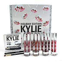 KYLIE HOLIDAY BIG BOX - Подарочный набор косметики 5 в 1