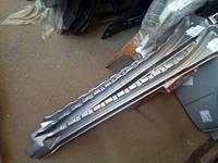 Порог внутренний сдвижной двери фольцваген транспортер(т4)-под ролик