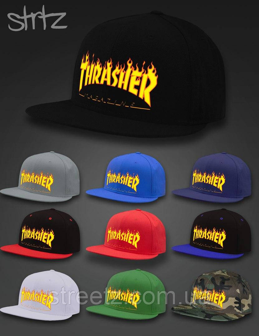 Thrasher Snapback Cap Кепка Снепбек