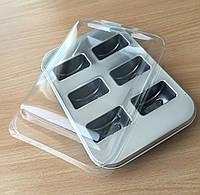 Упаковка з кришкою для Макарон 6 шт.
