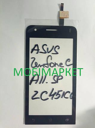 Сенсор (тачскрін) Asus ZenFone C (ZC451CG), фото 2