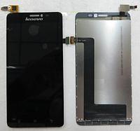 Оригинальный дисплей (модуль) + тачскрин (сенсор) для Lenovo S850 (черный цвет)