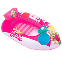 "Плотик надувной Bestway 93204 ""Лодочка ""Barbie"", 114х71 см (Y)"