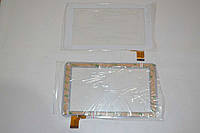 Оригинальный тачскрин / сенсор (сенсорное стекло) для GoClever Tab R70 (белый цвет, тип 1, самоклейка)