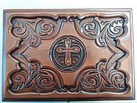 Рака (ковчежец) для мощей 500х350х170 (массив бука), фото 1