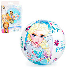"""Надувной мяч Intex 58021 """"Frozen"""", 51 см (Y)"""