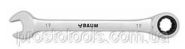 Ключ трещеточный (19 мм) L=238 мм Baum 55-19