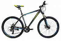 """Горный велосипед WINNER IMPULSE 27,5"""", рама 17"""", серо-синий"""
