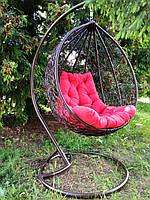 "Подвесное кресло ""Garden"". Подвесное кресло. Подвесное кресло качеля. Садовые качели.Підвісне крісло з ротангу"