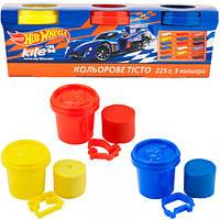 """Тесто для лепки Kite HW17-151 """"Hot Wheels"""", 3х75 г (Y)"""