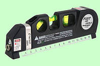 Лазерный уровень с рулеткой. 3 в 1.