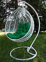 """Підвісне крісло """"Garden"""" (біле). Подвесное кресло. Подвесное кресло качеля. Садовые качели"""
