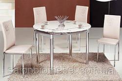 Рапродажа стеклянных обеденных столов