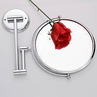 Косметическое зеркало увеличительное 20 см, фото 1