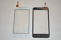 Оригинальный тачскрин / сенсор (сенсорное стекло) для Huawei Ascend Y5c Y541, Honor Bee (белый, самоклейка)