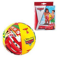 """Надувной мяч Intex 58053 """"Cars"""", 61 см (Y)"""