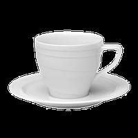 Фарфоровая чашка с блюдцем BergHOFF 0,18 л (1690346)