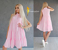 Платье Многослойный шифон  Размер единый (21030)