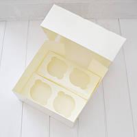 Коробка на 4 капкейка (без окна)
