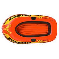 "Надувная лодка Intex 58330 ""Explorer"", 185х94х41 см"