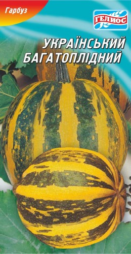 Семена тыквы Украинская многоплодная 20 шт.