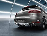 Накладка задней части кузова Porsche Macan из нержавеющей стали