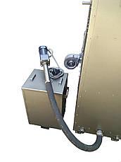 Двухконтурный пеллетный пиролизный отопительный котел с автоматическим удалением  золы 50 кВт, фото 2