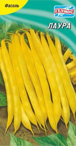Семена фасоли кустовая спаржевая Лаура 20 шт., фото 2