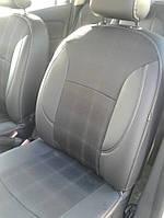 Чехлы на сиденья Renault Logan MCV Комбинированные авточехлы