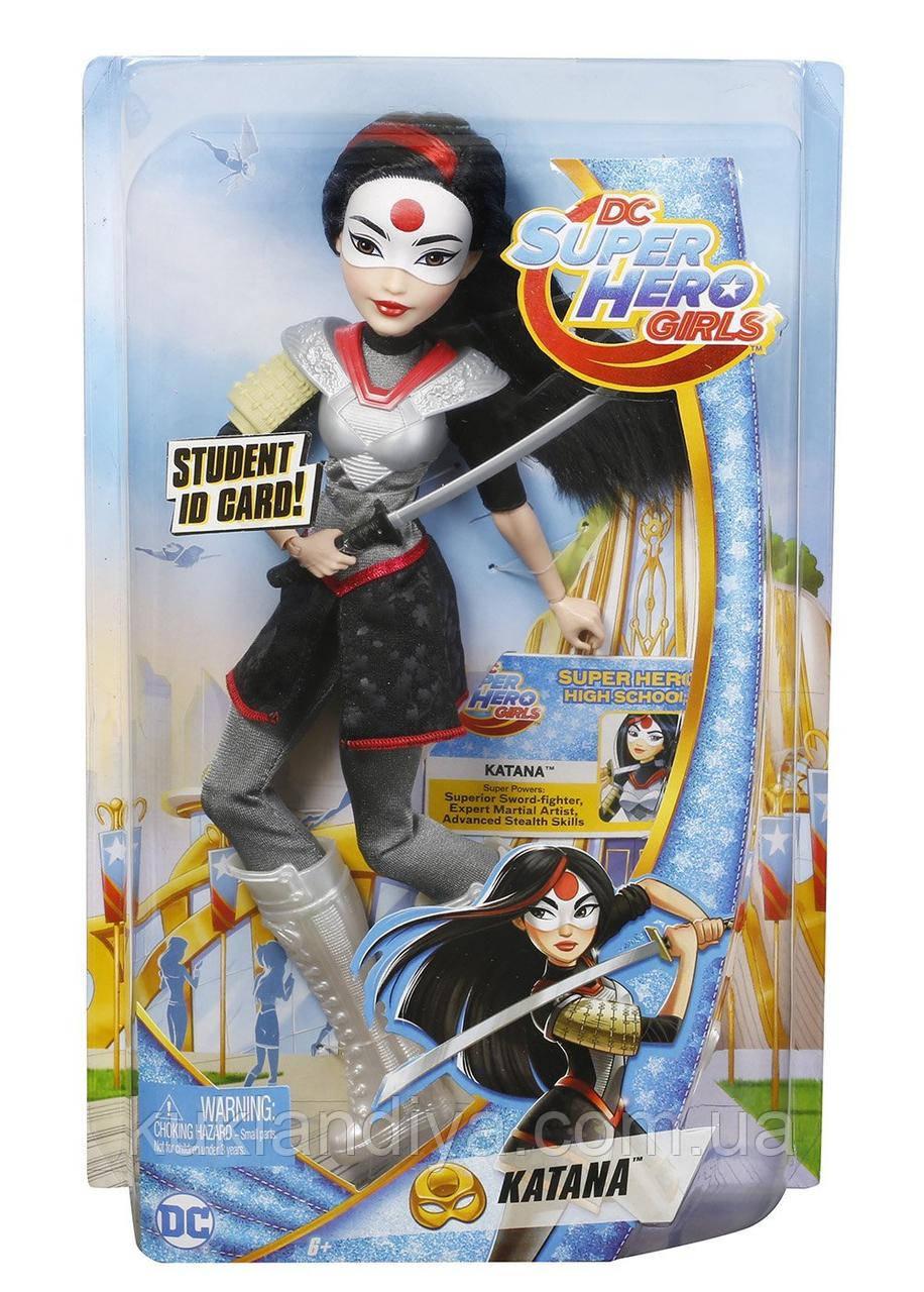 Лялька Катана - Katana DC Super Hero Girls