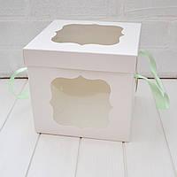 Коробка для пряничного домика 17х17х17 см.