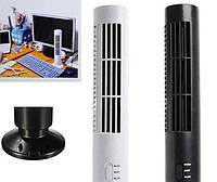 Портативный вентилятор Tower Fan USB (Белый), настольный вентилятор для дома и офиса
