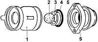 Корпус клапана Putzmeister P13 КА 139