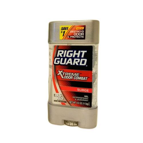 Right Guard Xtreme Odor Combat Surge Gel Дезодорант гелевый 113 г