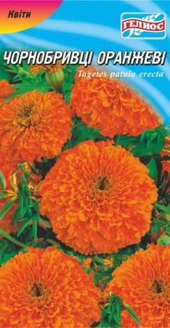 Бархатцы оранжевые 100 шт., фото 2