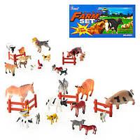 """Набор животных H 639-1-2 """"Farm set"""", 15 шт. (Y)"""