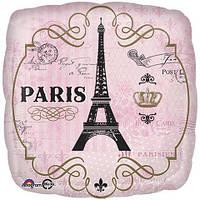 """Шар фольга 18"""" Париж 3202-0065"""