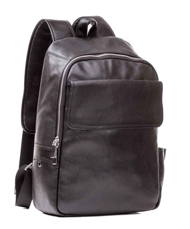 Рюкзак кожаный TIDING BAG M7806A черный
