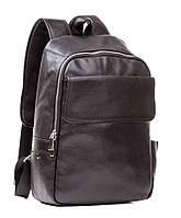 Рюкзак кожаный TIDING BAG M7806A черный, фото 1