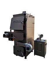 Двухконтурный пеллетный пиролизный котел с автоудалением золы 60 кВт, фото 3