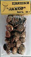"""Цвяшки """"Декор бронза"""" (50 г), фото 1"""
