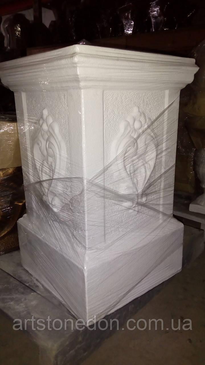 Колонна подставка из бетона №6 65 см