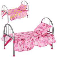 Кроватка для куклы 9342 / WS 2772, 45х32х25 см