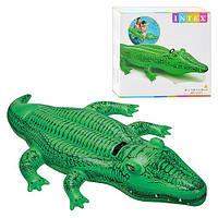 "Надувной плотик Intex 58546 ""Крокодил"", 168х86 см (Y)"